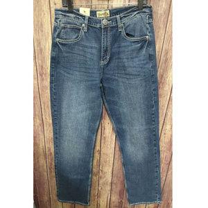 Wrangler Men Classic Straight Leg Jeans Size 31